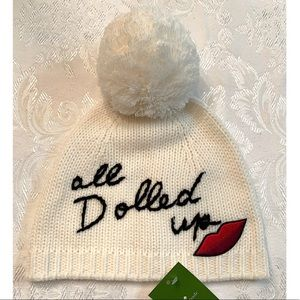 Kate Spade | All Dolled Up Knit Beanie With Pompom